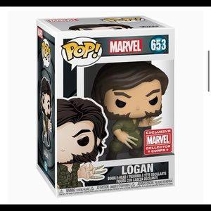 FUNKO POP - MARVEL- Logan # 653 (new)